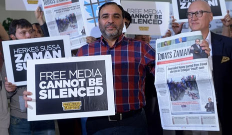 AFSV Statement on the Arrest of Today's Zaman Editor