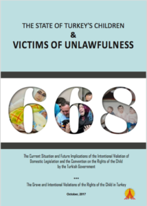 Children Victims of Unlawful Dententions in Turkey