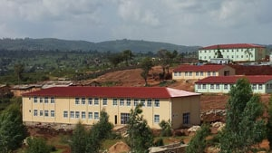 Hizmet volunteers in Ethiopia are building a complex that houses a school, soup kitchen, and hospital.