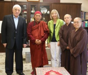 Fethullah Gulen meeting with Dharma Master Hsin Tao