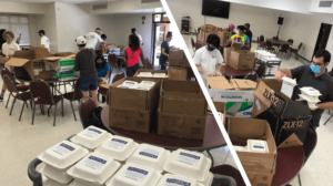 Pacifica Food Distribution for First Responders